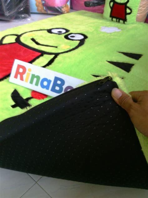 Karpet Karakter Busa Inoac karpet karakter keropi bordir murah rina boneka