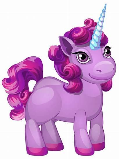 Purple Pony Clipart Transparent Clip Cartoon Unicornio