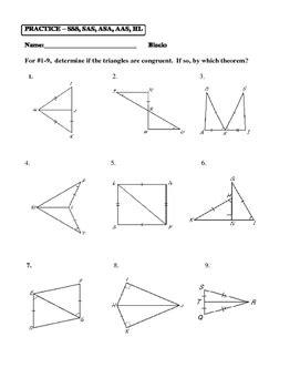 aas triangle congruence worksheet breadandhearth