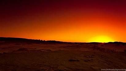 Desert Sunset Algeria Hoggar Tassili Sahara Wallpapers