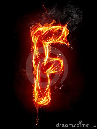fire letter  royalty  stock images image