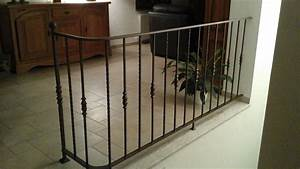 Garde Corps Escalier Fer Forgé : inspirez vous de la rampe ou du garde corps en fer forg d 39 un client escaliers stair ~ Nature-et-papiers.com Idées de Décoration