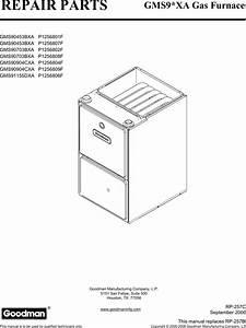 Goodman Mfg Gms90453bxa Parts List Manualslib Makes It