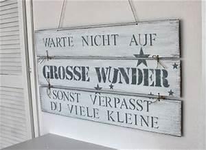 Schilder Mit Sprüchen : die besten 25 schilder aus palettenholz ideen auf ~ Michelbontemps.com Haus und Dekorationen