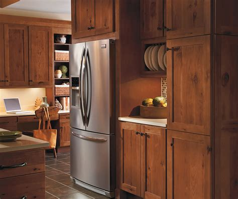 kitchen in homecrest rustic hickory kitchen cabinets homecrest cabinetry