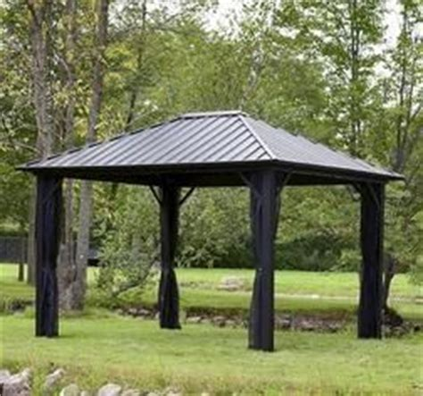 Canvas Storage Sheds Menards by Backyard Creations 174 10 X 12 Steel Roof Gazebo From