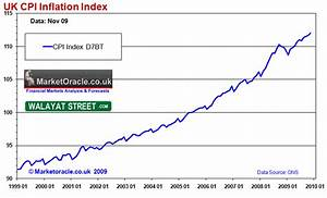 UK CPI Inflation Forecast 2010, Imminent and Sustained ...