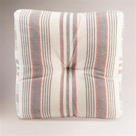 world market floor pillows gray herringbone floor cushion world market