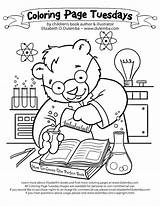 Coloring Science Pages Lab Drawing Scientific Method Microscope Chemistry Worksheet Sheet Photosynthesis Sheets Physical Scientist Bear Getdrawings Library Dulemba Clipart sketch template
