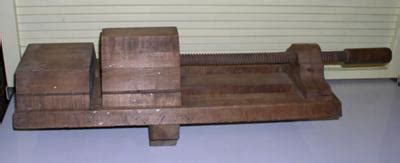 wooden vice  woodworking