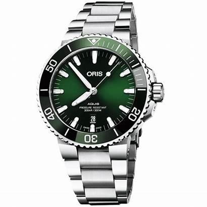 Oris Aquis Automatic Bracelet Dial 5mm Watches