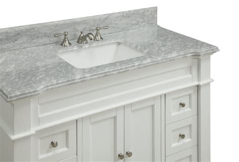 48 Inch White Shaker Bathroom Vanity Cottage Beach Style