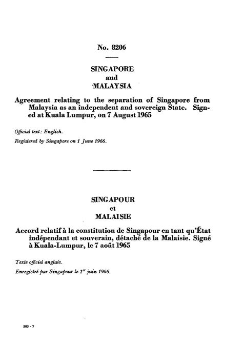 french tenancy agreement template independence of singapore agreement 1965 wikipedia
