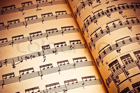 background  classical notes stock image colourbox