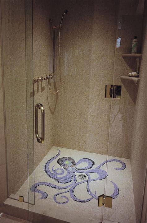Mosaik Fliesen Dusche Boden by Octopus Mosaic Shower Floor By Appomattox Tile