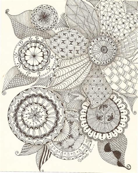 Zentangle Art Patterns