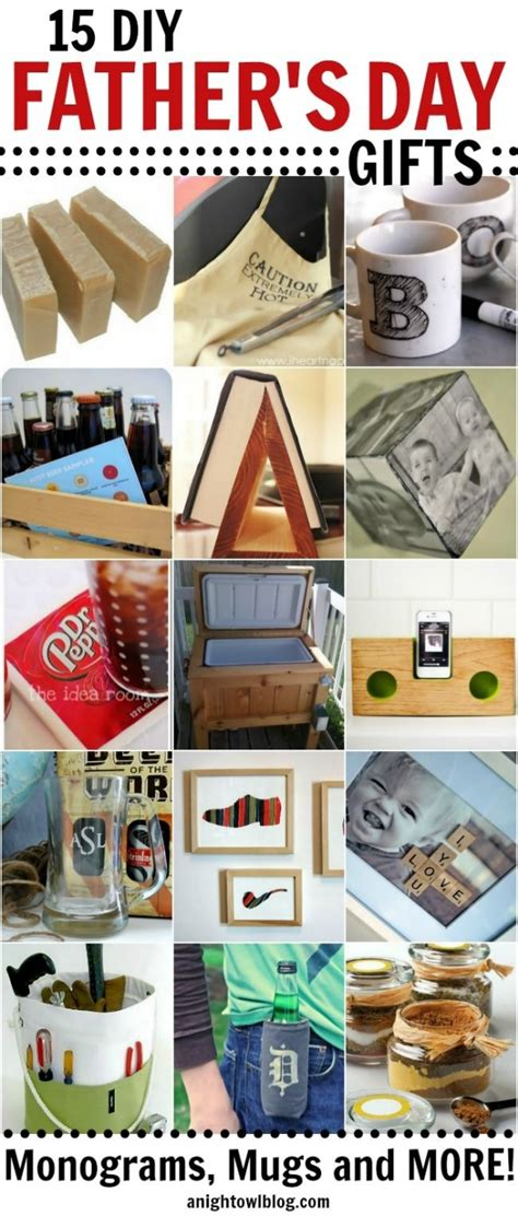 fathers day diy gifts 15 fabulous diy father s day gifts