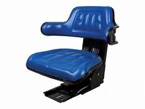 Universal, Economy, Tractor, Seat, With, Adjustable, Suspension, U2013, Blue, 510000bl, Farmer