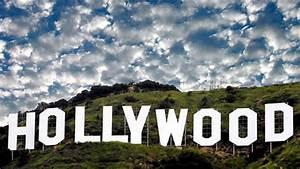 hollywood's landmark burns after large explosion - YouTube  Hollywood