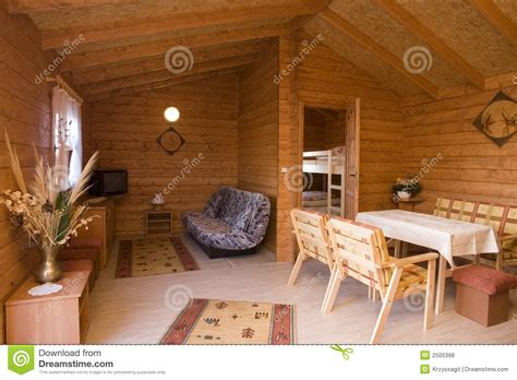 Rustic Home Interior Stock Photo. Image Of Area, Retreat