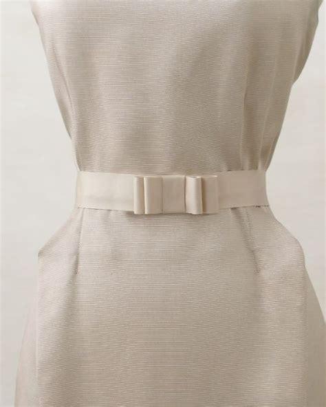 ribbon bow belt bridesmaid bridal accessories diy