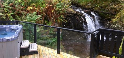 lodges in perthshire with tubs lodges with tubs tub lodges log cabins with