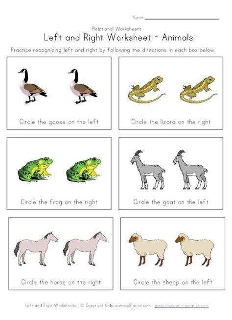 left   worksheets childrens worksheets kids