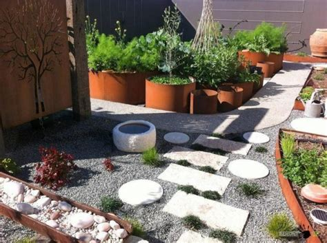 15 ideas for white sensation in garden landscaping with
