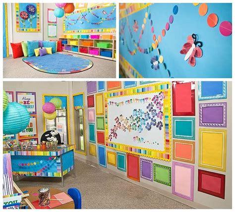 Kindergarten Decoration by Paint Chip Classroom Decor Decorate Classroom