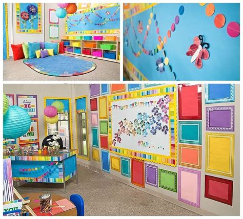 paint chip classroom decor decorate classroom