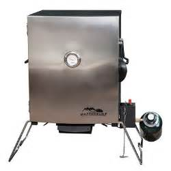 Portable Stainless Steel Masterbuilt Gas Smoker with Door