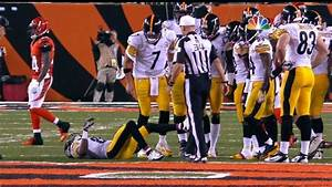 wow the nfl actually fined a player for faking an injury