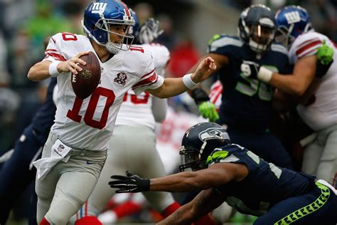 giants seahawks halftime score giants lead seahawks