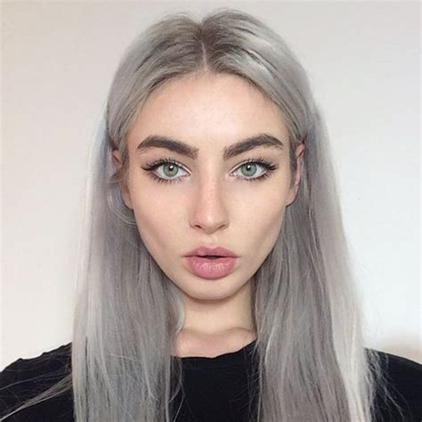 Light Silver Hair by 28 Trendy Grey Hair Color Ideas To Rock Styleoholic