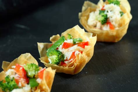 pastry canapes recipes filo pastry canapes