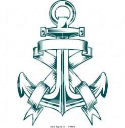 Anchor Banner Tattoo Vectors