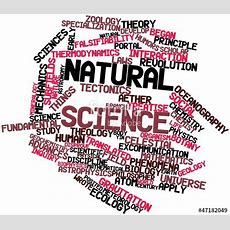 """""""word Cloud For Natural Science"""" Stock Photo And Royaltyfree Images On Fotoliacom  Pic 47182049"""