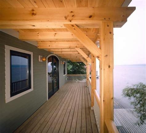 Custom Eastern White Pine Timber Frame  Interlaken Ny