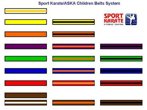 karate belt colors karate belt colors meaning images
