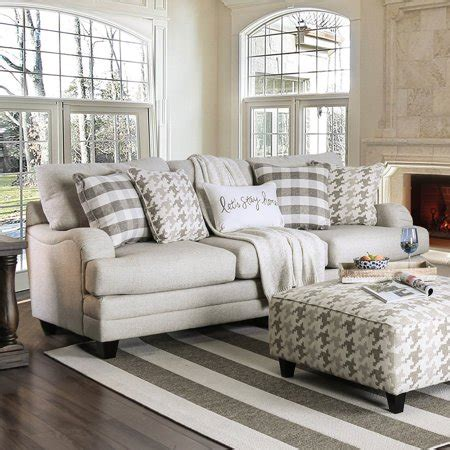 Stain Resistant Sofa furniture of america stanley stain resistant sofa