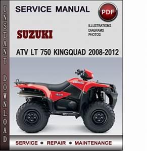 Suzuki Atv Lt 750 Kingquad 2008