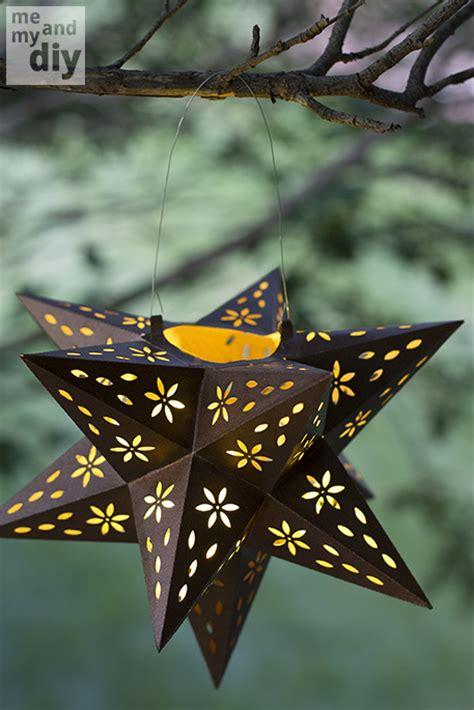 mindblowingly beautiful star shaped diy paper lanterns