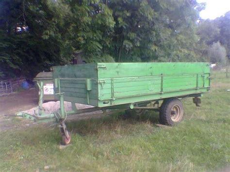 traktor anhänger gebraucht einachser traktor anh 228 nger gebraucht