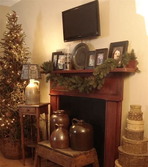 Primitive Decorating Ideas For Fireplace by 17 Best Ideas About Primitive Mantels On