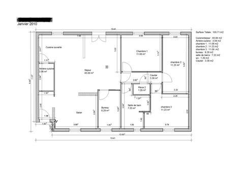 plan de maison gratuit 3 chambres les meilleurs plans de maison maison moderne
