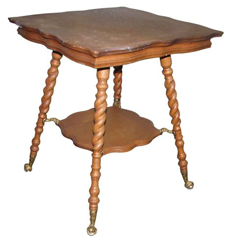 Living Room Antique Side Tables by 19th Century Barley Twist Oak Side Table Olde Things