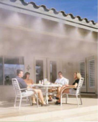new fresh fog 80042 electric outdoor patio cooling misting