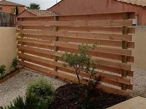Bache Separation Jardin : brise vue s paration entre garage et jardin ~ Premium-room.com Idées de Décoration