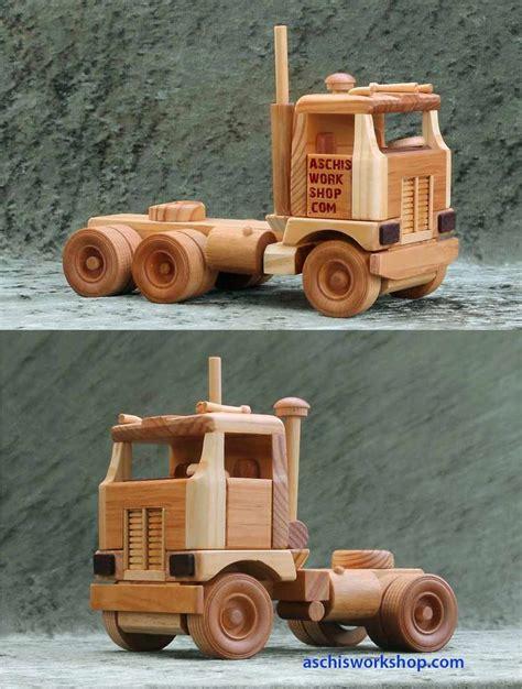 images  toy wood trucks  pinterest toys