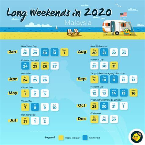 long weekends malaysians letsgoholidaymy